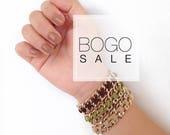 BOGO - Cross Weave Bracelet - your choice of hardware