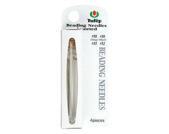 Tulip Beading Needles-Assorted Needles size 10, 11 and 12.
