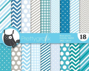 80% OFF SALE chevron mix patterns digital paper, commercial use, scrapbook papers, background - PS629