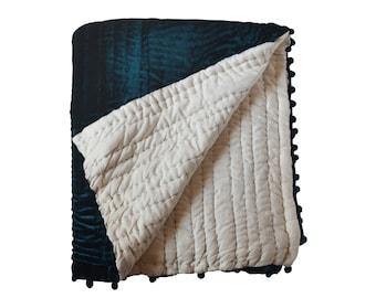 Quilts, King Quilt, Queen Quilt, Twin Quilts, Bedding Quilts, Velvet Quilt, Handmade Quilts, Pick Stitch Quilts, Blanket, Bedding Soft Quilt