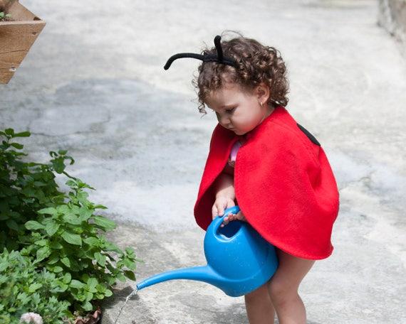 toddler girl halloween costume ladybug costume red cape costume ladybird costume red polar fleece