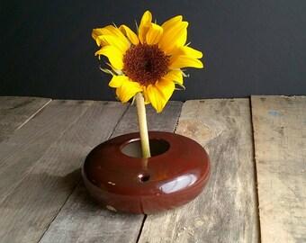 Ikebana Vase -Flower Vase- Ikebana Arrangement Vase -Small Vase- Pin Frog Vase