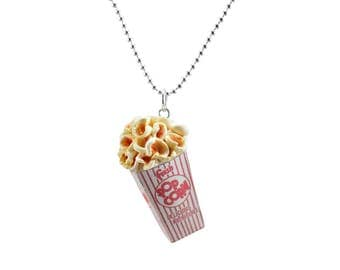 Scented Butter Popcorn Necklace