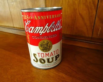 Campbell's Tomato Soup Can Bank Still Bank