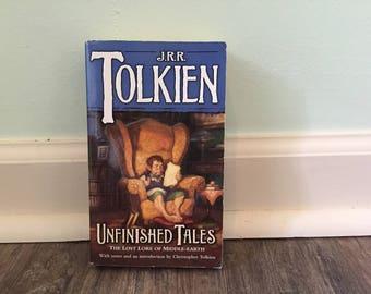 """J R R Tolkien """"Unfinished Tales"""" paperback novel"""