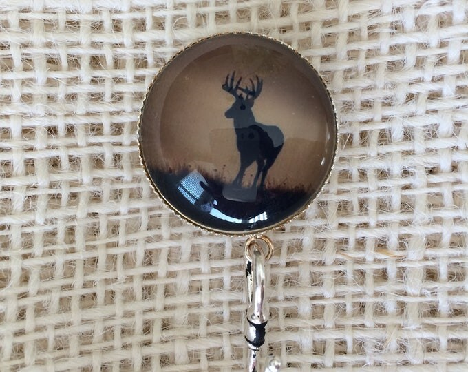 Knitting Pin - Magnetic Knitting Pin for Portuguese Knitting - Moose