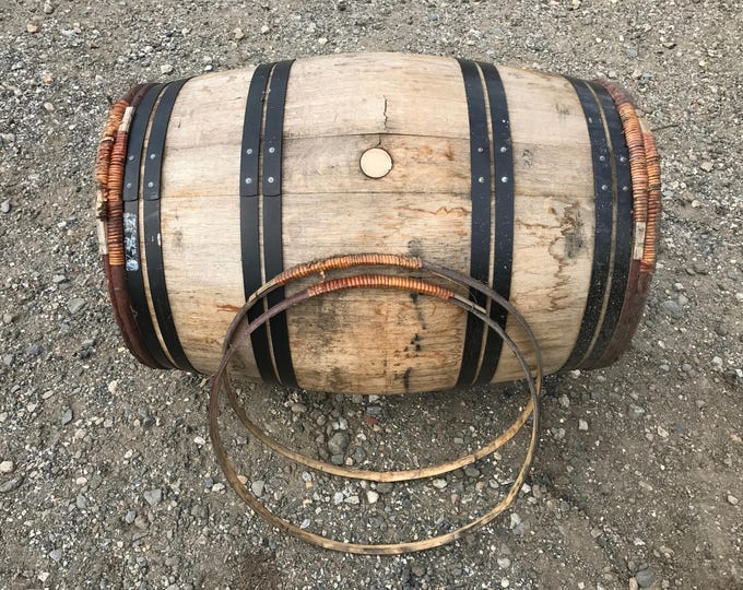 Wooden Wine Barrel Hoop Bands - 2 Pack