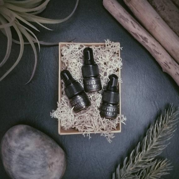 Botanical Scent Samples Perfume Oil Cologne Oil