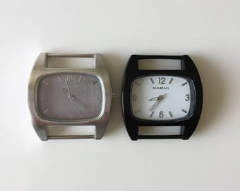 Ribbon Watch Faces For Double Stranded Beaded Watch Bands (1086)