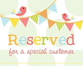 Custom Order for Shawnette William (custom designed 2 large banners - popcorn and cotton candy)