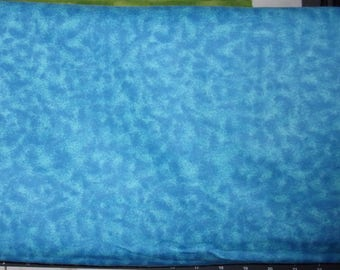 Flannel Fabric, Marbled Aqua, 100% Cotton,...Quilts, Rag Quilts, Clothing, Crafts