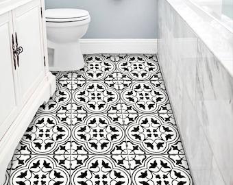 Moroccan Tile/ Floor /Wall /Bathroom Kitchen Backsplash, Removable Stair  Riser Decal :