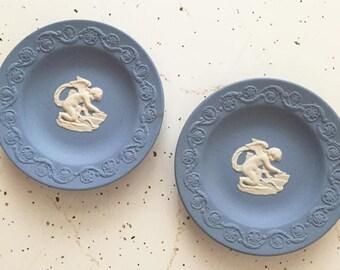 Wedgewood Jasperware Two Plates