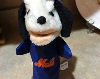 NY Mets hand puppet - Super rare