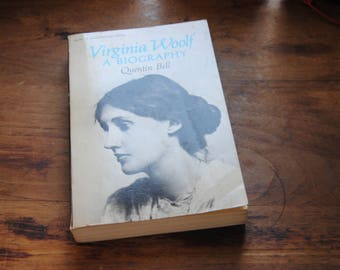 Virginia Wolf A Biography Quentin Bell/Paperback/1972