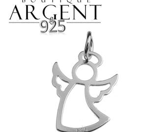 Sterling Silver Pendant 925 18.7 mm Angel Cupid charm