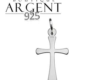 19.7 mm 925 sterling silver cross charm