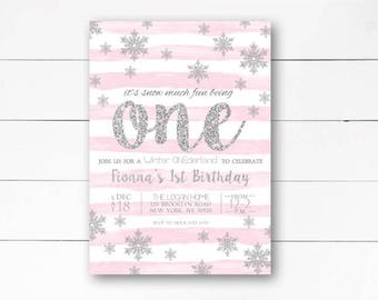 Winter onederland Etsy