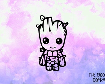 Groot Vinyl Decal <More Colors Available> <DP009>