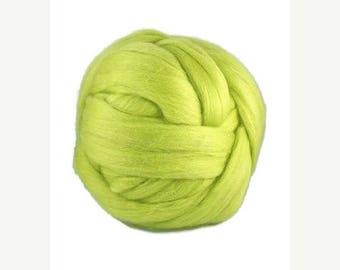 SALE Merino wool roving superfine ,Color:caipirinha