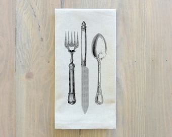 Flatware Napkin_everyday, table setting, tableware, place setting, housewarming gift, party, dinner, event