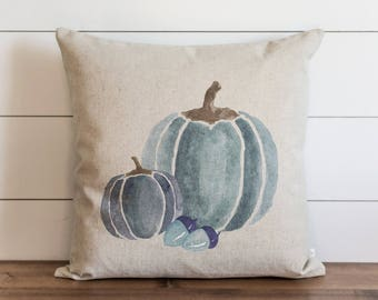 Watercolor Pumpkins 20 x 20 Pillow Cover // Fall // Autumn // Thanksgiving // Throw Pillow // Gift for Her // Accent Pillow