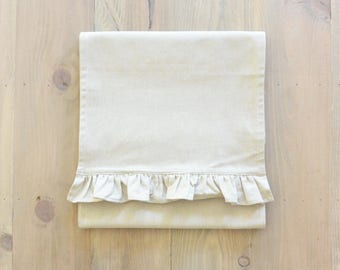 Plain Table Runner_table setting, tableware, place setting, housewarming, dinner, event, wedding, anniversary, birthday