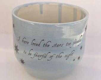 Porcelain Stars Cup