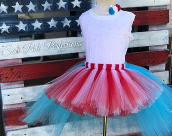 4th of July Tutu Dress, 4th of July Tutu, 4th of July Outfit, Patriotic Tutu, 4th of July Baby Girl, Tutu Dress, Toddler Tutu, Baby Tutu