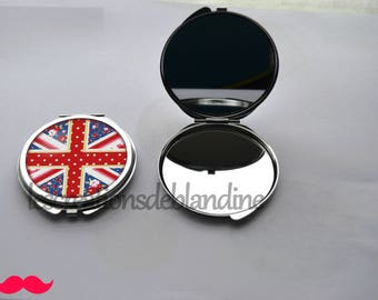 "double Pocket mirror ""special UK"" customizable"