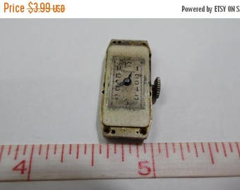 10% OFF 3 day sale Vintage Old Antique SAGold Watch Co Watch Movement - NonWorking - For Parts or Repair Only