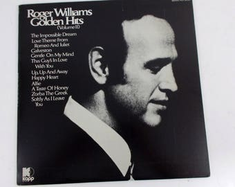 Roger Williams Golden Hits Volume 2 Vinyl LP Record Album KS 3638