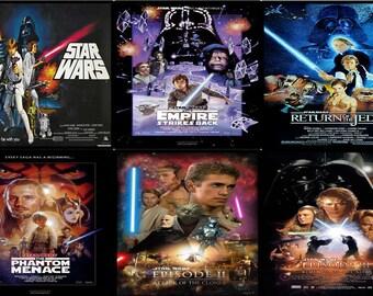 Star Wars Movie Poster Ceramic Drinks Coasters