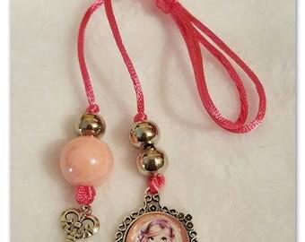 Blythe Pull Ring Pink