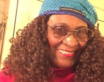 Curly Crochet headband wig