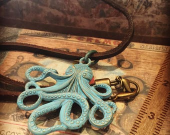 Patina'd Octo Necklace