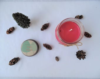 Red's Basket Little Red Riding Hood  Fairy Tale Inspired All Natural Soy Wax Candle