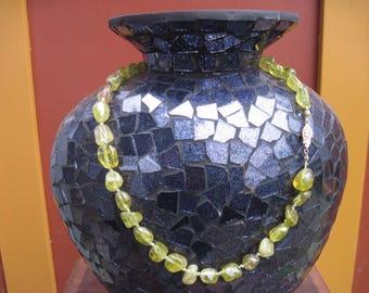 Gorgeous Unique Czech Glass Necklace