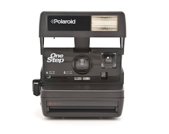 Polaroid OneStep 600 - Film Tested and Working - 80s Polaroid instant camera