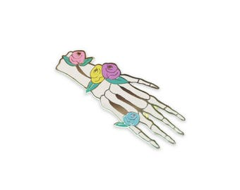 Anatomy Bloom - Hand (White)