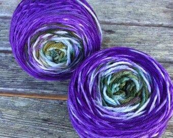 "Hand-Dyed yarn ~ 100% Peruvian Highland Wool ~ Colorway: ""Rhode Island"""
