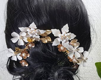Sylewen Set of two bridal haircombs