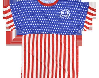 Boxercraft Patriotic Pom Pom Jersey