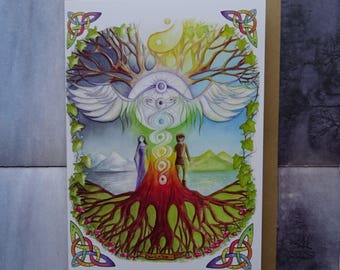 World Tree A5 Art Card