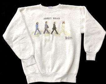 Vintage 90's Beatles Abbey Road Sweatshirt