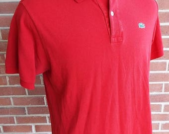 HAPPY SUMMER SALE Vintage Short Sleeve Polo Shirt by Lacoste