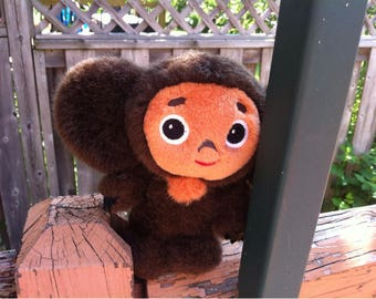 Plush Toy Cheburashka Talking / Crocodile Gena and Cheburashka Characters  made in Russia