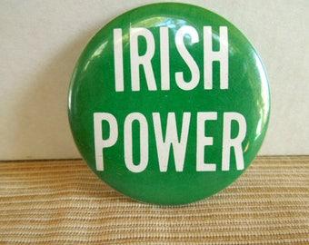 Vintage Iris Power button pin