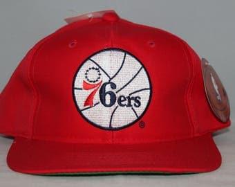 Vintage Deadstock Philadelphia 76ers NBA Snapback Hat