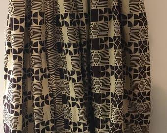 Ankara Long Maxi Skirt